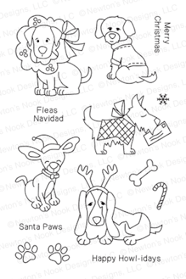 Canine Christmas by Newton's Nook Designs