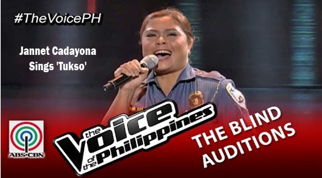 Watch Jannet Cadayona Sings 'Tukso' on The Voice of the Philippines Season 2 Blind Audition