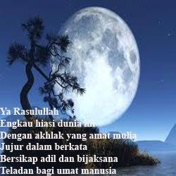 Puisi Maulid Nabi Muhammad