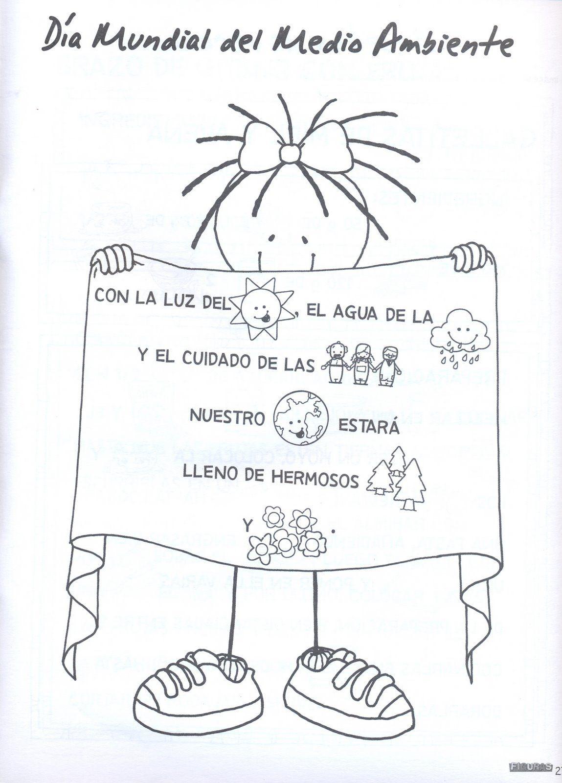Dibujos Para Colorear Del DIA De Los Ninos