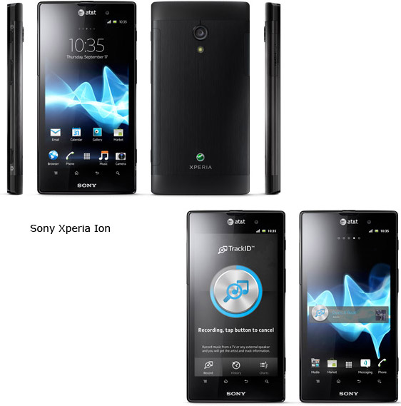 sony xperia ion hspa lte specs images