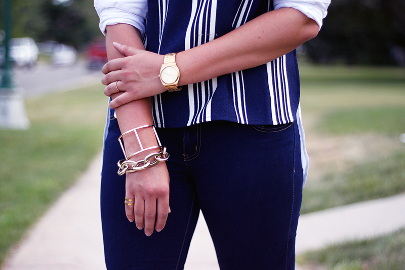 lydell nyc bracelets and endless rose top