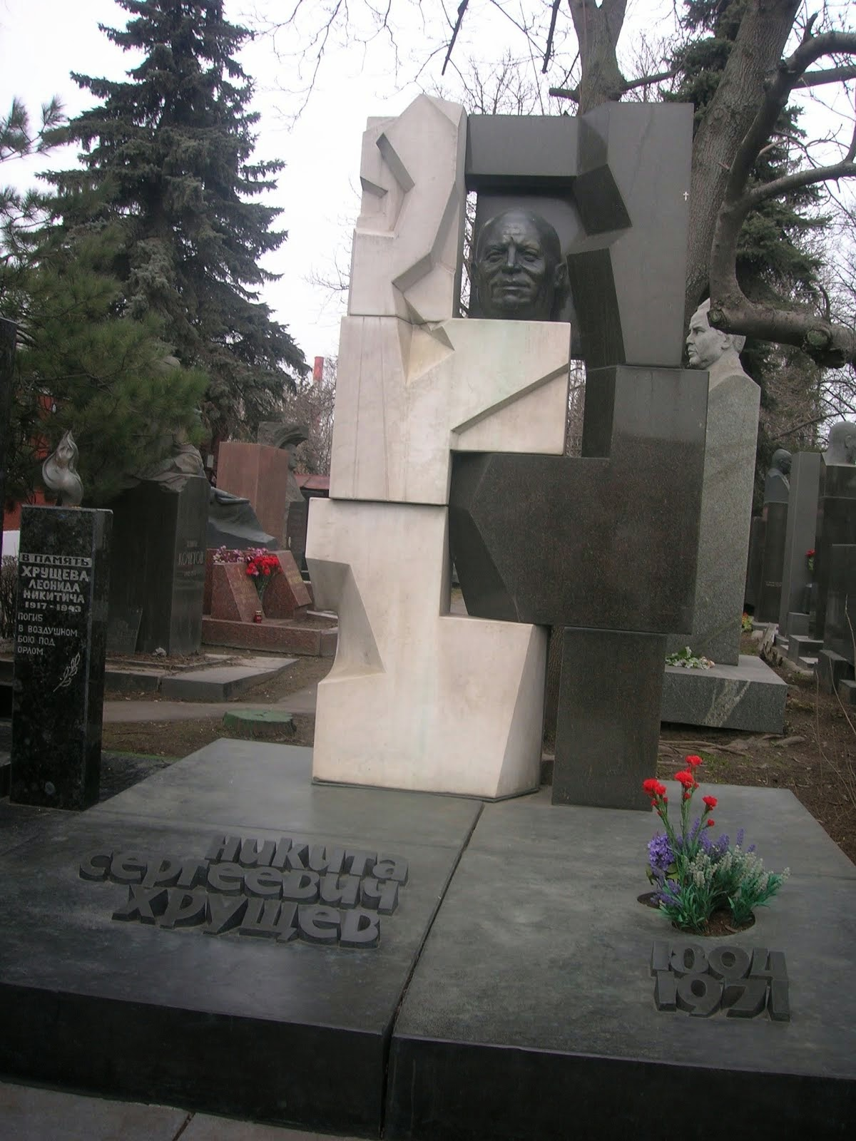 Khruschev's Grave