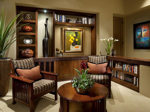 this master suite sitting area features custom walnut and macassar ebony millwork incorporated in a custom carved 4 inch tall scratched edge profile to - Living Room Ideas 2012