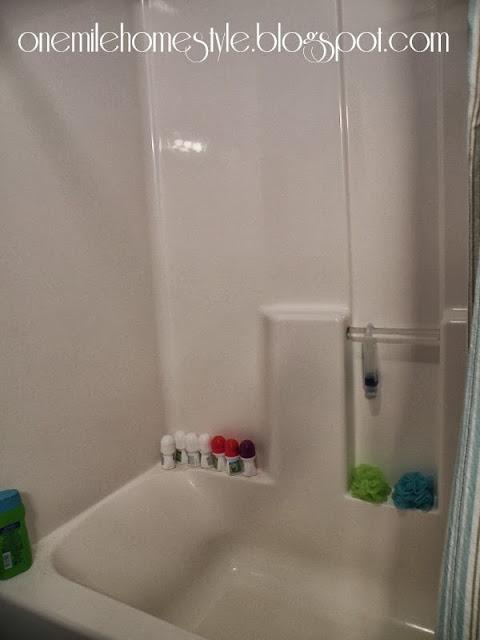 Bathtub organization before command hooks