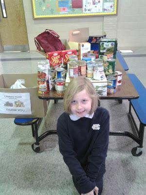 Montgomery Catholic Preparatory School First Grader Gives for Her Birthday! 1