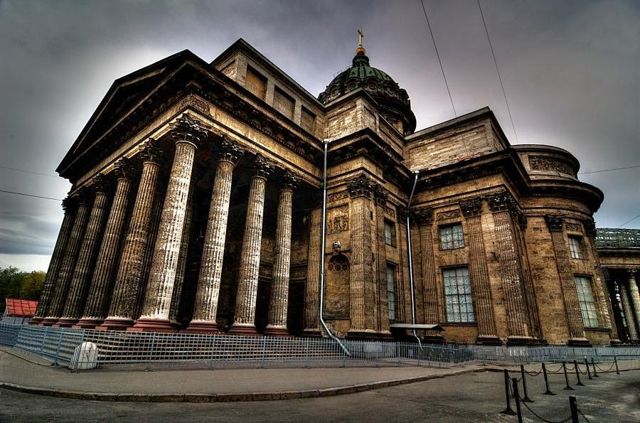 Kazan Cathedral in St.Petersburg photos