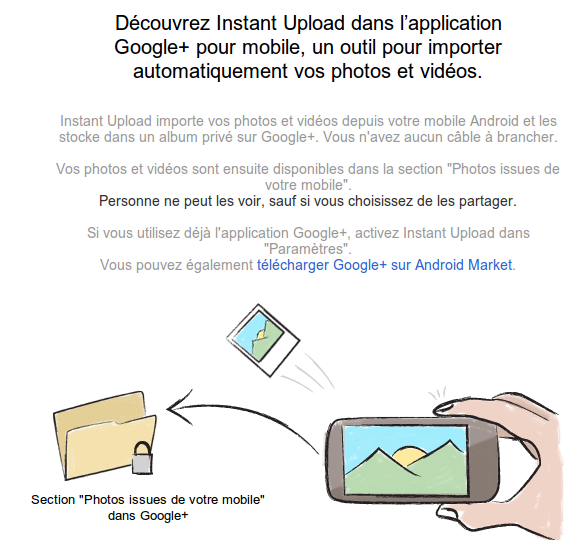 test de google+