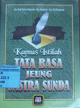 14. Kamus Istilah Tata Basa JeungSastra Sunda, Oleh Drs. Budi Rahayu