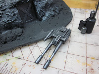 Adding a canon to the Warhammer 40k Bunker