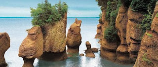 (Canada) - Bay of Fundy - Walk on the ocean floor