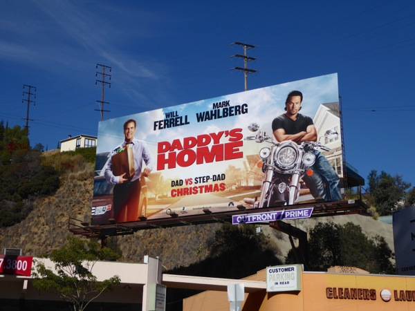 Daddy's Home movie billboard
