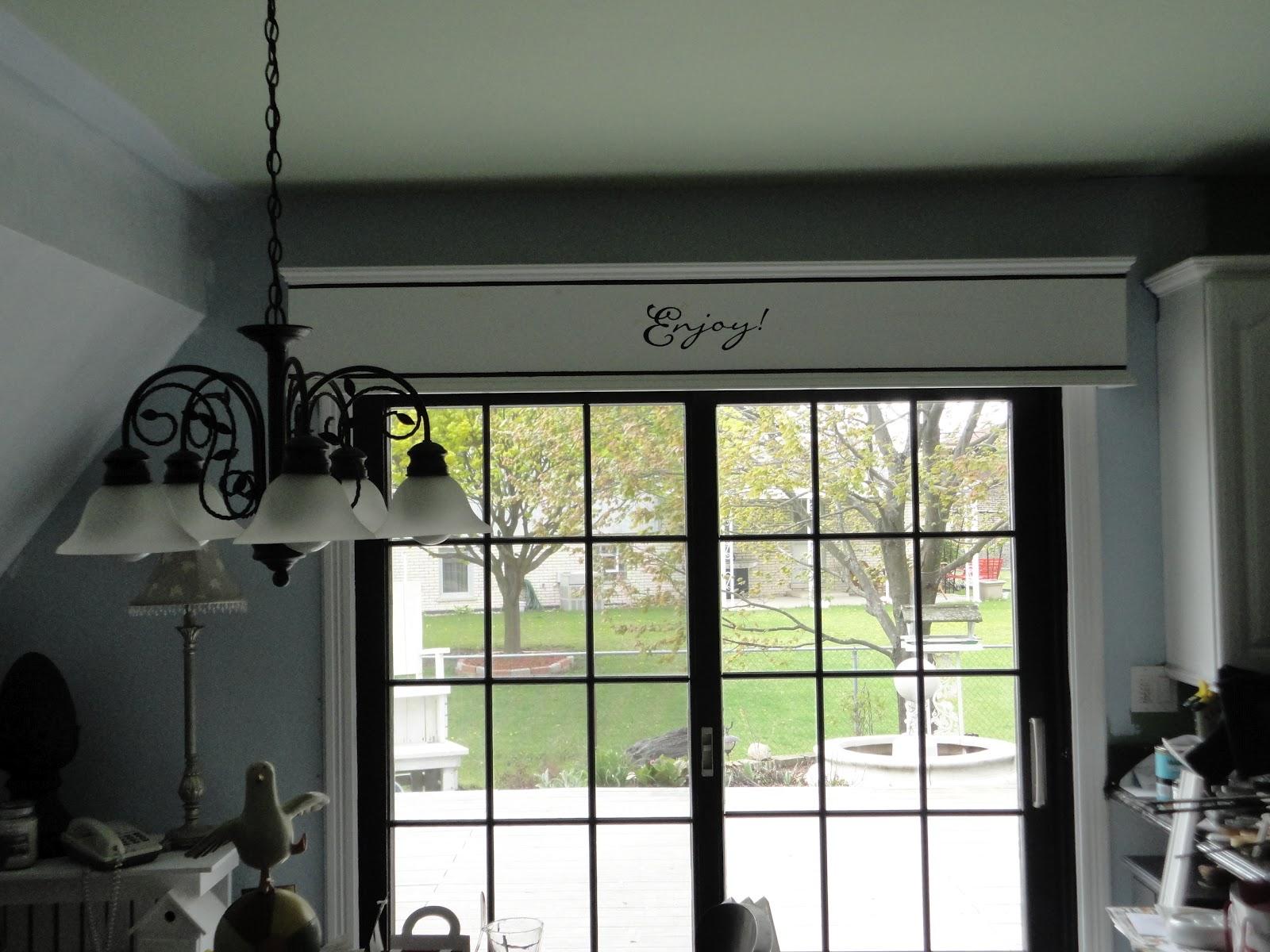 Attrayant Painted My Patio Doors Black!