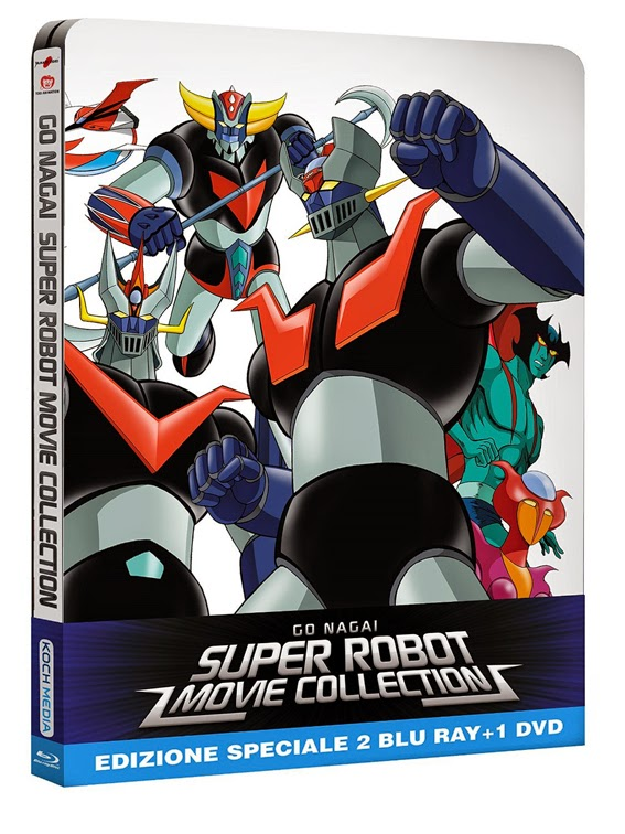 Go Nagai Super Robot Movie Collection recensione e foto