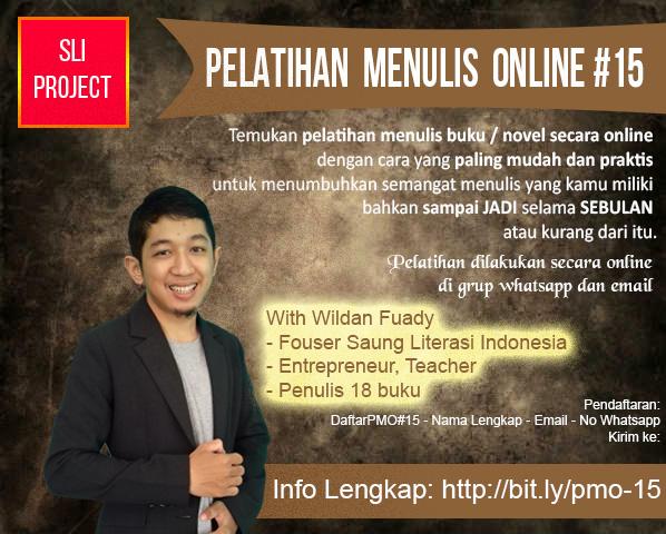 Pelatihan Menulis Online Telah Dibuka