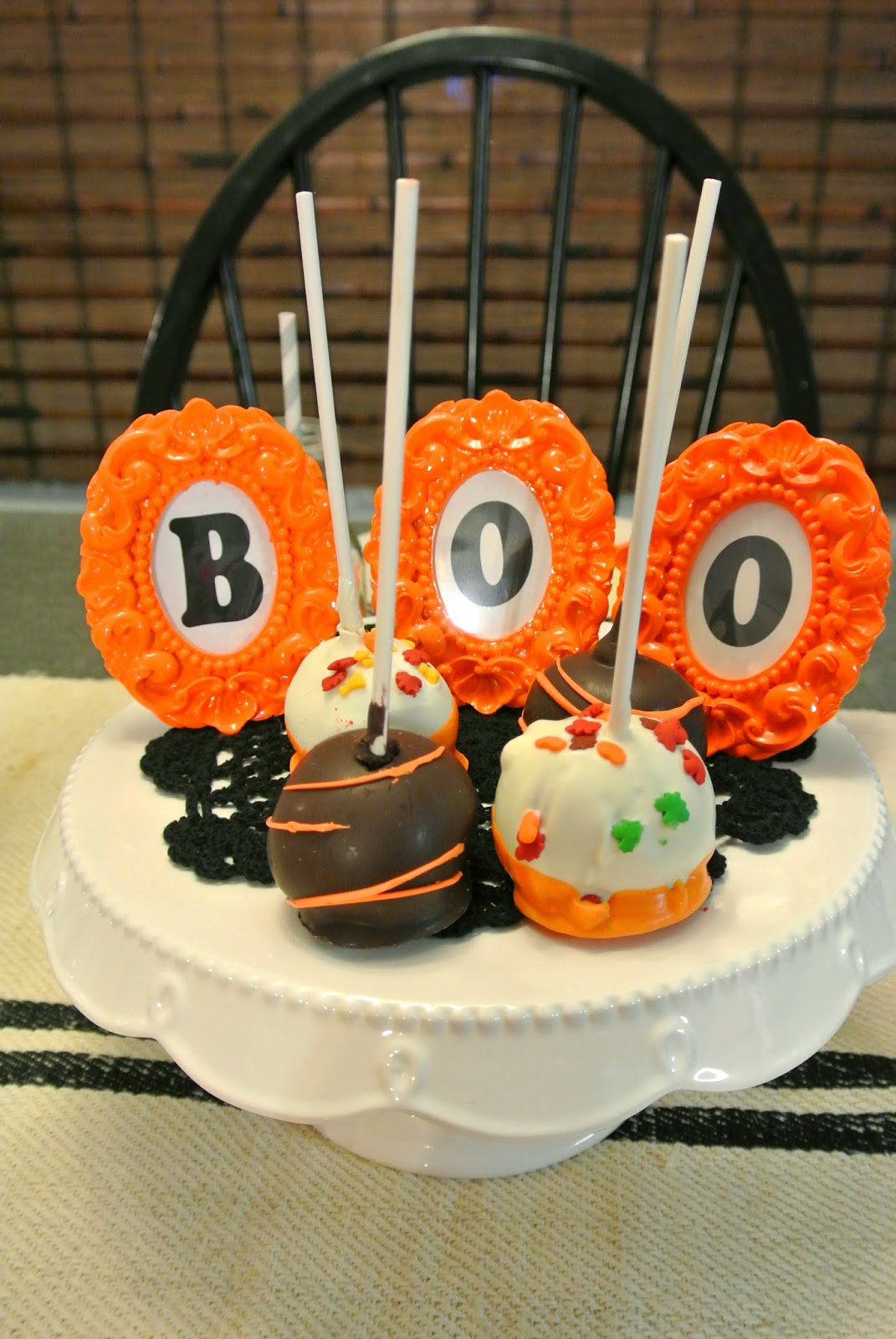 Treat Halloween Tablescape