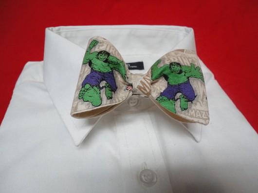 gravata hulck verde com temas de super heróis criatividade fotos eu adoro morar na internet