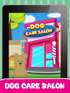 Dog Salon and Dressup Game