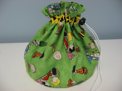 GPS Drawstring Bag ~ A Picture Tutorial