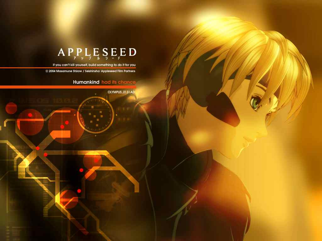 New Anime Gallery  Appleseed Anime Series