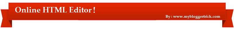 HTML Edtior