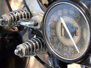 1942 Harley Knucklehead Speedometer