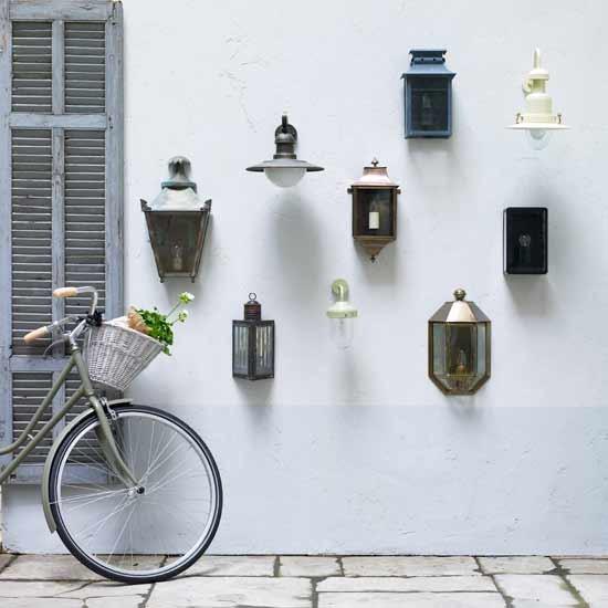 ideias jardim exterior:candeeiros de jardim, iluminação exterior