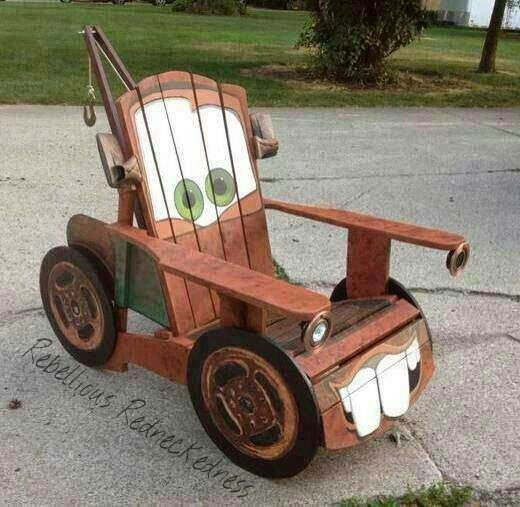 DIY Tow Truck Chair