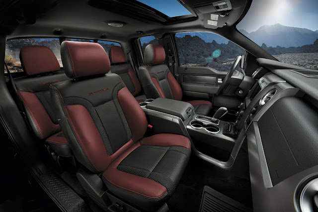 2014 Ford F-150 SVT Raptor interior
