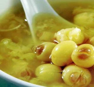Chè đậu xanh hạt sen