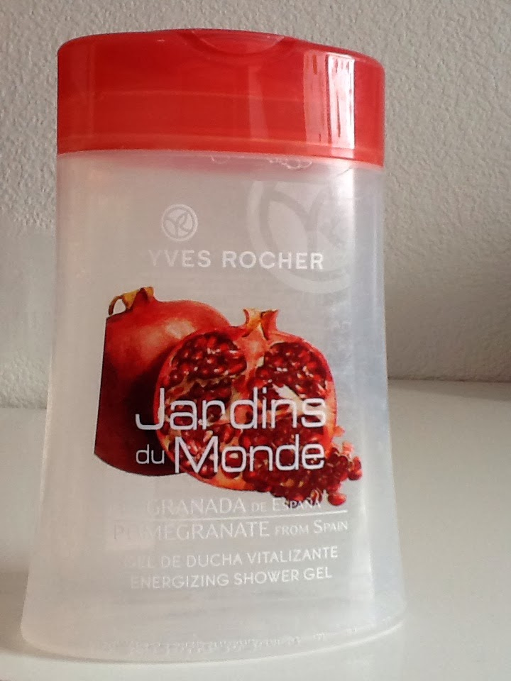 Yves Rocher Jardins du Monde Pommegranate shower gel