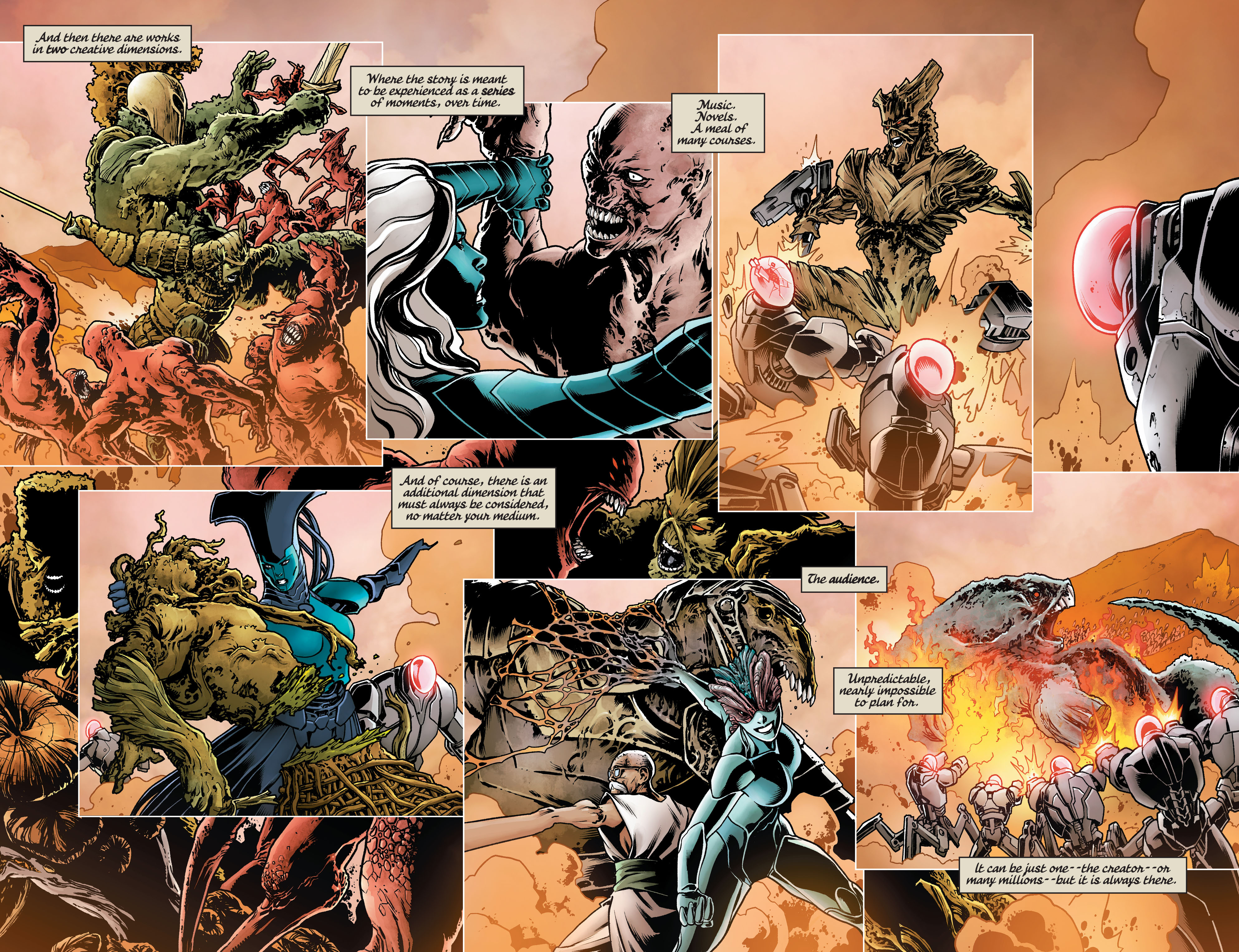 Swamp Thing (2011) Issue #40 #45 - English 11