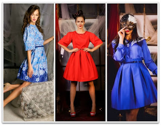 Модели платьев осень-зима 13/14 от Анастисии Шведчиковой в стиле New Look