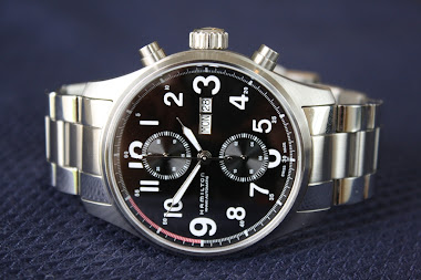 Jam Chronograph Idaman