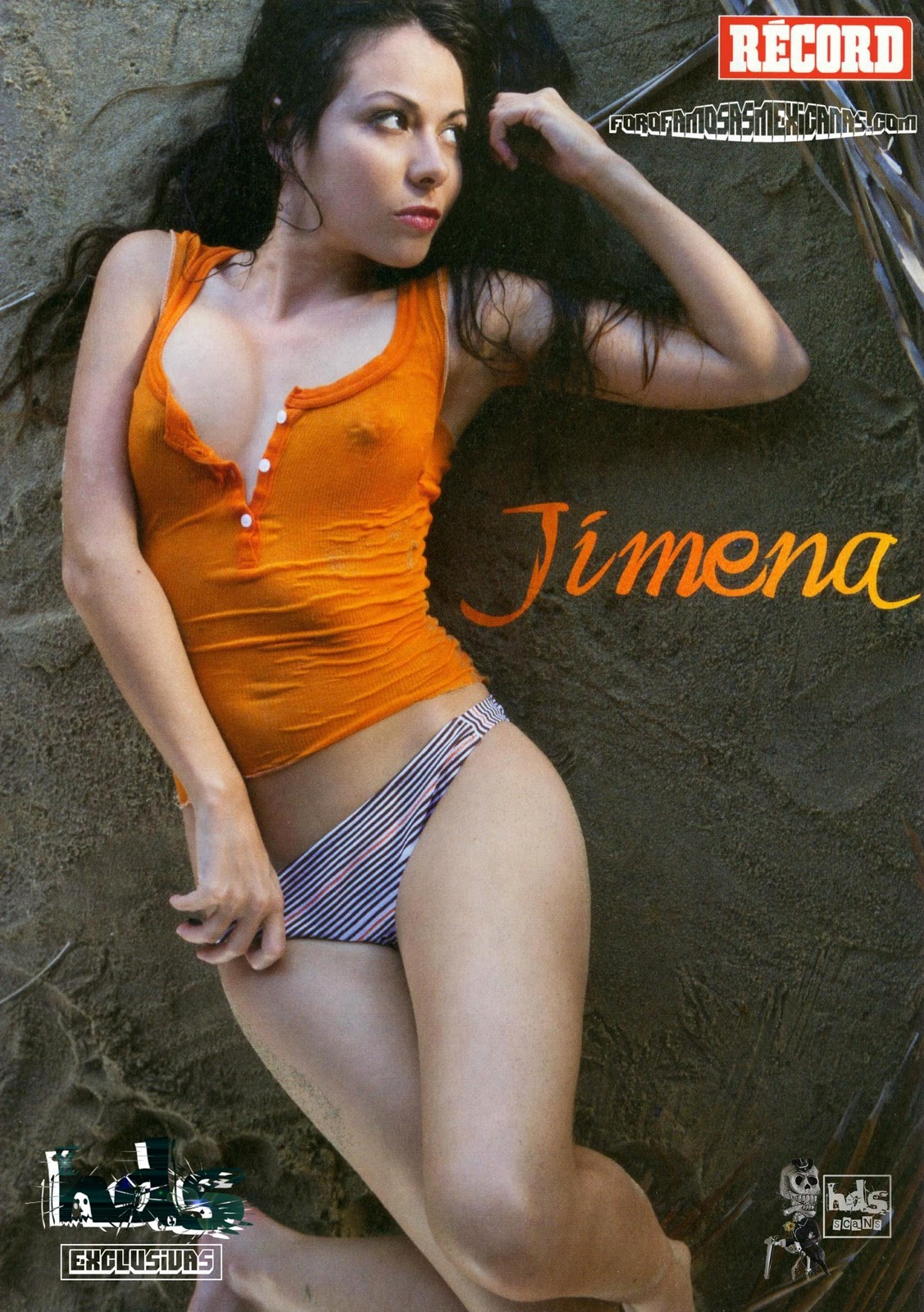 Đến lượt Jimena Sanchez...cởi đồ 27-04-2011
