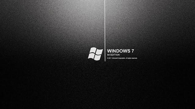 Windows 7 Black Screen Wallpaper