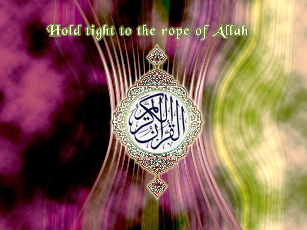 Hold tight to the rope of Allah