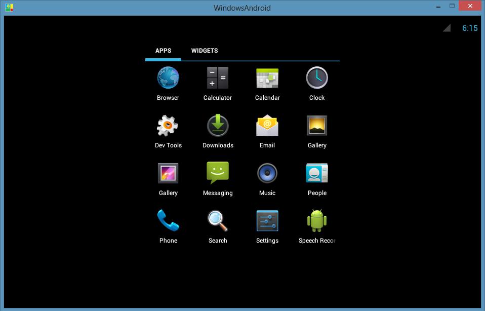 скачать симулятор андроида на windows phone