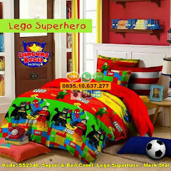 Harga Seprei & Bed Cover/ Lego Superhero / Merk Star Jual