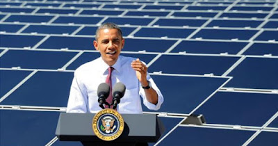 Obama Speaks on Solar Energy
