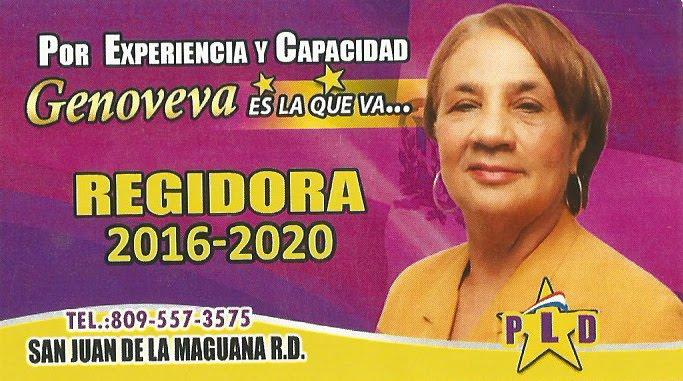 Dra. Genoveva Ramirez Regidora 2016-2020 PLD