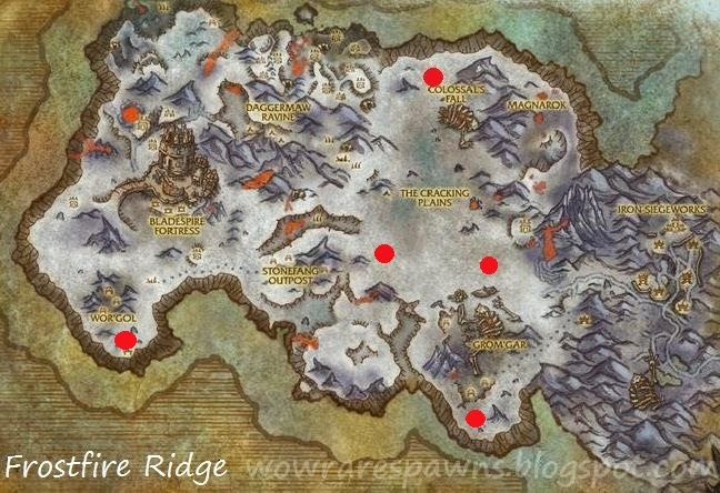 WoW Rare Spawns: The 7 Mount Dropping Rares of Draenor