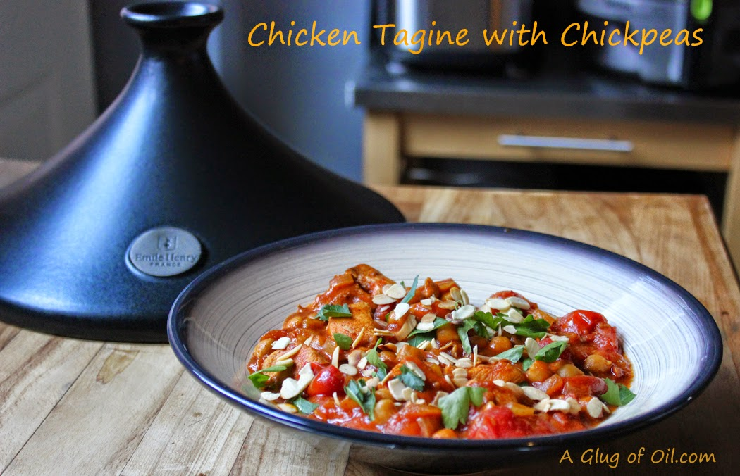 A Simple Chicken Tagine, With Chickpeas And Mint Recipes ...