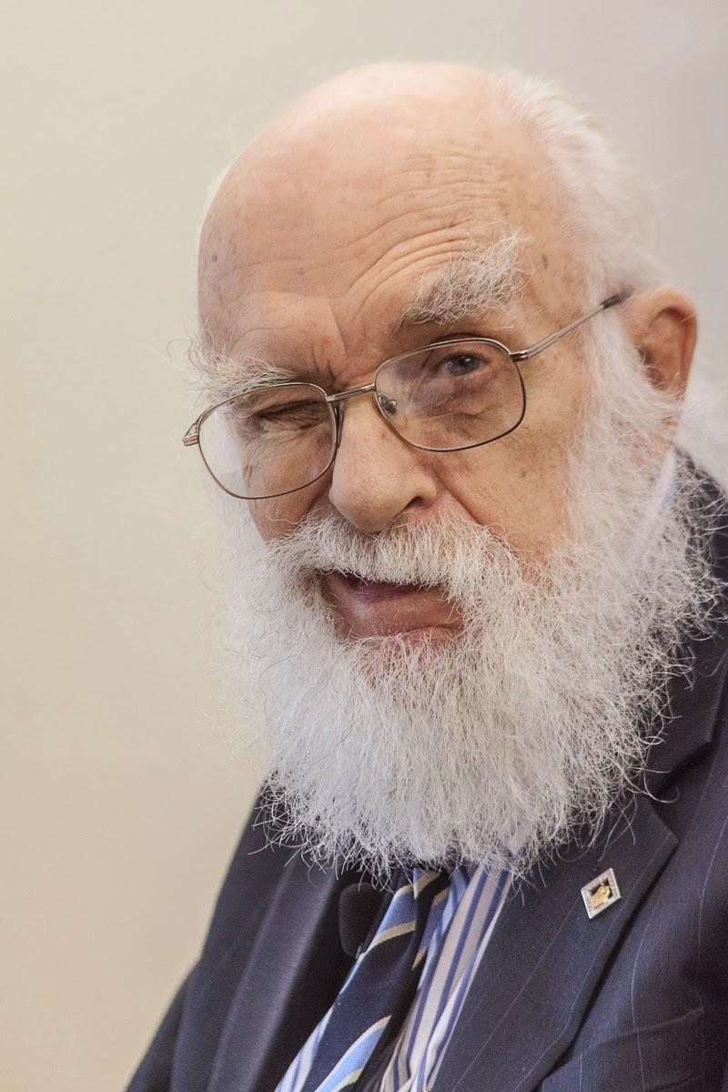 James Randi - Foto de Mauricio-José Schwarz (2012)