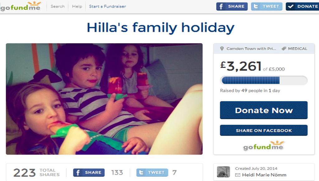 Hilla Duka, fundraising, Familienurlaub, Krebs, cancer, #fuckcancer, Mmi, Mittwochs mag ich