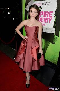 Sarah Hyland   Vampire Academy Premiere in LA 4.jpg