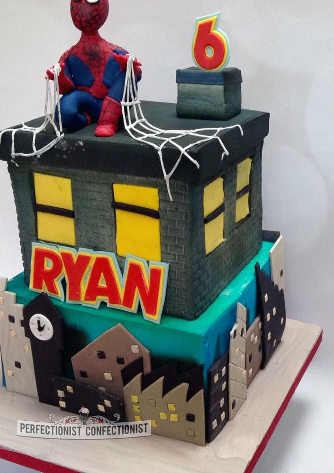 The Perfectionist Confectionist Ryan Spiderman Birthday Cake
