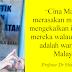 CINA MALAYSIA LEBIH GEMAR MENGEKALKAN IDENTITI BANGSA MEREKA - PENYELIDIK UM