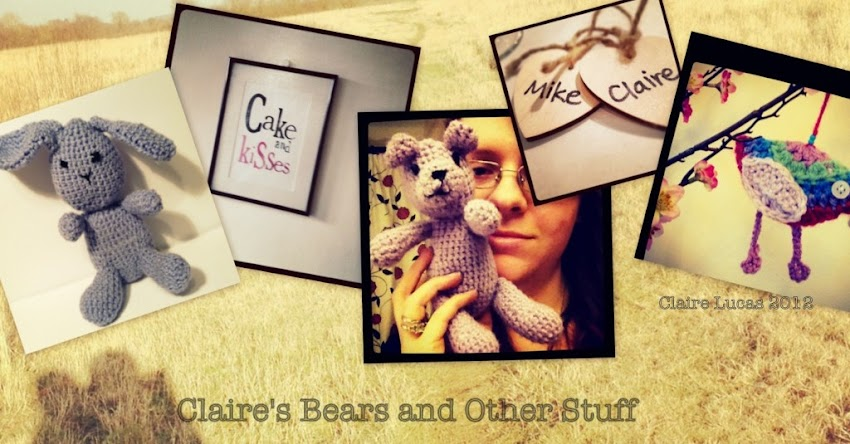 Claire's Bears and other stuff