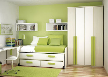 #6 Green Bedroom Design Ideas